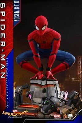 $ CDN926.99 • Buy 1:4 Hot Toys Marvel Spider-Man: Homecoming Peter Parker QS015 Figure Deluxe Ver.