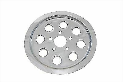 Rear Pulley Cover 61 Tooth Chrome For Harley Davidson By V-Twin • 43.99$