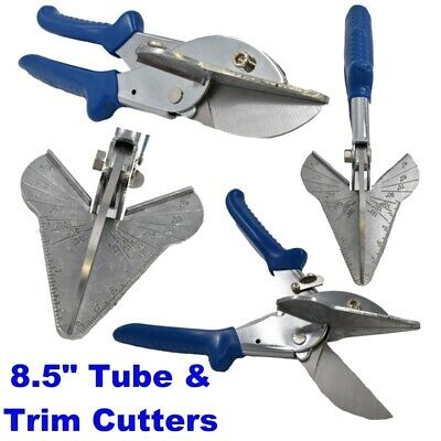 £14.95 • Buy Tube And Trim Cutter Multi Angled Gasket Shear Mitre Shear Tile Snip 8.5 Inch
