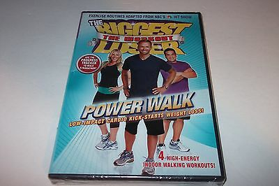 NEW - Biggest Loser Power Walk Workout DVD - Cardio Fitness - FREE SHIPPING • 7.05£