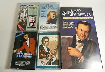 $ CDN11.99 • Buy LOT Of Jim Reeves CDs, Cassette Tapes, Video Tape (19 Items)