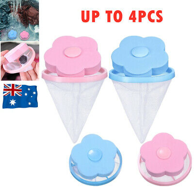 AU9.99 • Buy Washing Machine Filter Bag Floating Lint Hair Catcher Mesh Pouch Laundry Tool AU