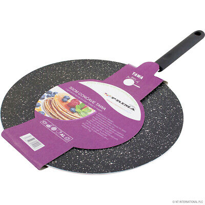 26cm / 10  Large Tawa Tava Pan Indian Naan Roti Chapati Bread Pancake • 10.99£