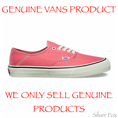 AU39.95 • Buy Vans Authentic Salt Wash Pink Skate Shoes Sneakers Runners Brand New With Tags