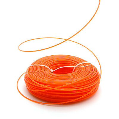 Heavy Duty 2.4mm X 100m Replacement Strimmer Line Cord Wire For Petrol Strimmers • 9.49£