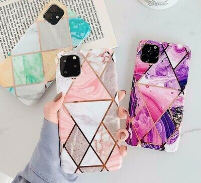AU8.95 • Buy Case For IPhone 12 11 XR XS MAX 8 7 Plus ShockProof Marble Phone Cover Silicone