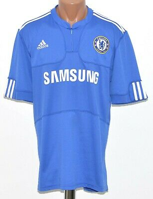 Chelsea 2009/2010 Home  Football Shirt Jersey Adidas Size L Adult • 34.99£
