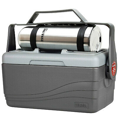 AU78 • Buy Thermos Combo Lunch Lugger Box 6.6L & 1L Flask Insulated Cooler Stainless Steel