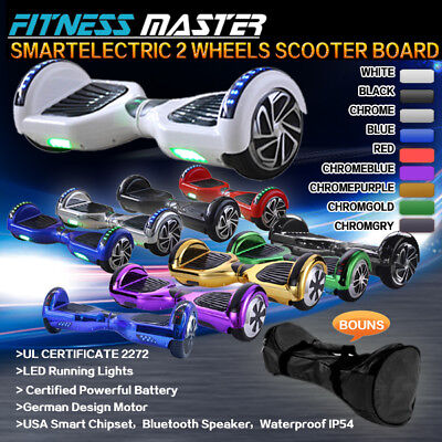AU319.99 • Buy Smart Self Balancing Hoverboard Electric 2 Wheel Scooter Hover Board