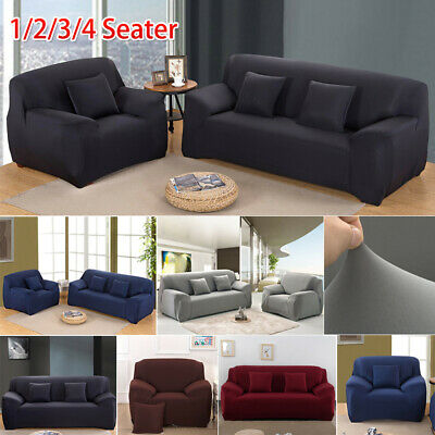 AU24.99 • Buy Stretch Sofa Cover Couch Lounge Recliner Slipcover Protector 1 2 3 4 Seater NEW