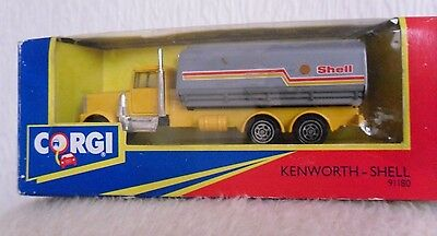 Corgi Kenworth Shell Tanker  No 91180 • 9.50£