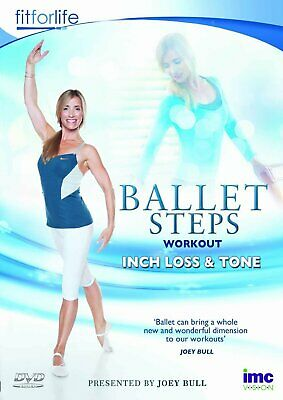 £10.99 • Buy Ballet Steps Workout Inch Loss & Tone - Joey Bull - Fit For Life Series (DVD)