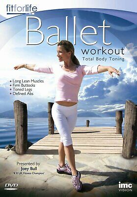 £9.99 • Buy Ballet Workout - Total Body Toning - Joey Bull - Fit For Life Series (DVD) Joey
