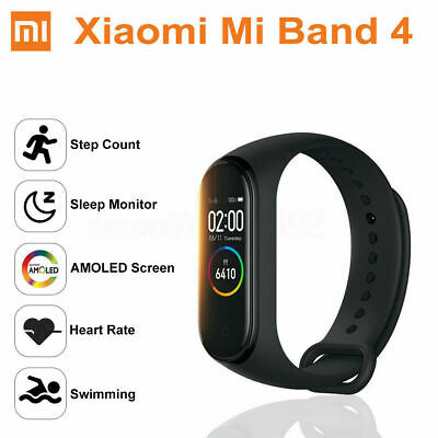 Global Version For Xiaomi Mi Band 4 Bluetooth Music Smart Watch Bracelet OLED • 32.39$