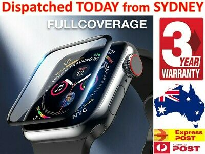 AU6.45 • Buy Genuine Supreme Tempered Glass Screen Protector For Apple Watch Series 5 4 3 2 1