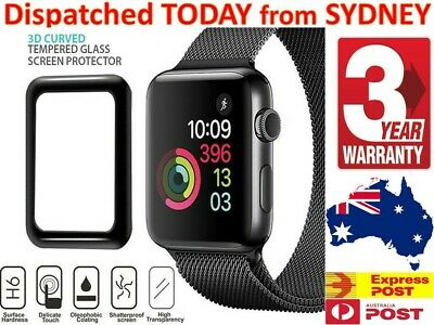 AU8.98 • Buy For Apple Watch Screen Protector 38 42 44 40 Mm I Watch Series 6 5 4 3 2 1 SE AU
