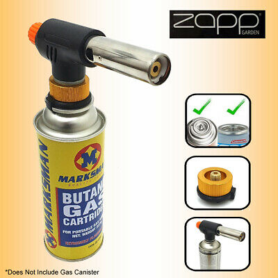 £10.25 • Buy Zapp Multi Blow Torch For Soldering, Kitchen, Welding, Camping BBQ, Weed Burner