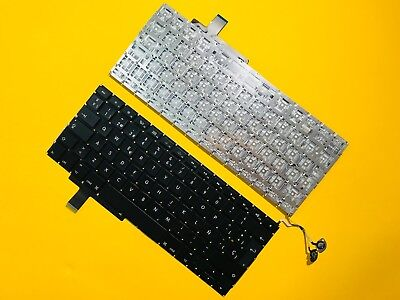$18.95 • Buy A1297 Spanish Keyboard+Screws For MacBook Pro 17 Inch A1297 2009 2010 2011