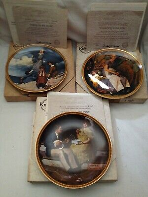 $ CDN18.80 • Buy Norman Rockwell Rediscovered Women Plates: 1st, 2nd, 3rd Issues; Boxes + COAs