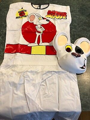 $ CDN68.09 • Buy Vintage 1986 Danger Mouse YOUTH Halloween Costume Size Small (5-6) *RARE* NO BOX