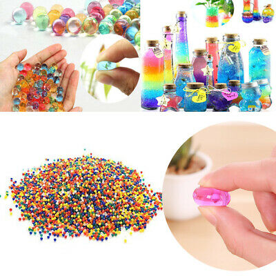 AU6.75 • Buy Up To 100000pcs Crystal Water Balls Jelly Gel Beads For Vases Orbeez Colorful