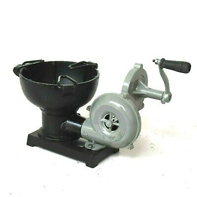 Forge Furnace With Hand Blower Pedal Type Handle Collectible • 101.65£