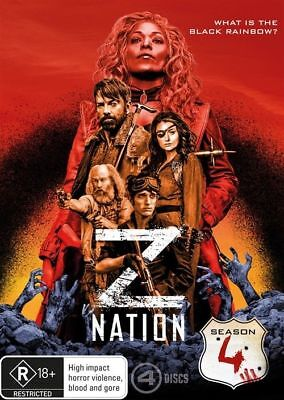 AU21 • Buy Z Nation Season 4 DVD NEW Region 4