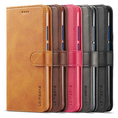 AU8.17 • Buy For Huawei Y5 2019 Y9 Prime 2019 Magnetic PU Leather Case Flip Wallet Cover