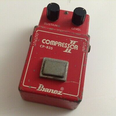 Vintage Ibanez Compressor II CP-835 Guitar (TS808 Series) Pedal From The 1970's • 150$