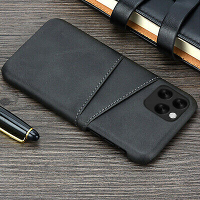 $ CDN5.20 • Buy For IPhone 12 11 Pro Max XS Leather Wallet Credit Card Slot Case Cover Samsung
