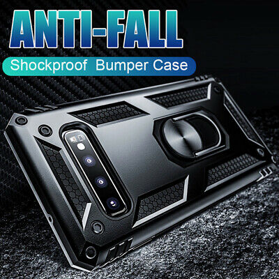 $ CDN4.18 • Buy Rugged Hybrid Military Armor Case Cover For Samsung Galaxy Note 9 10 Plus S8 S9+