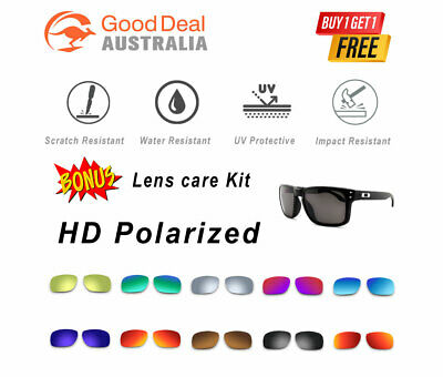 AU19.99 • Buy Oakley Holbrook 9102 Polarized Replacement Lenses Sports Premium Sunglasses AU