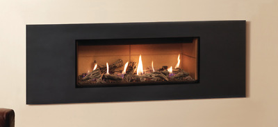 £120 • Buy Gazco Steel 2 Front/Frame Only – In Graphite For Studio 2 Open Fronted Gas Fire