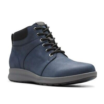 Un Adorn Walk Ladies Unstructured Clarks Waterproof Casual Lace Up Boots Size • 88.99£
