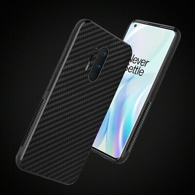 AU4.95 • Buy For OnePlus 8T 6 7 Pro 8 Silicone Shockproof Carbon Fiber Hybrid Soft Case Cover
