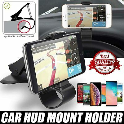 $4.19 • Buy Universal Car Mount Adjustable Dashboard HUD Holder Cradle Stand For Cell Phone