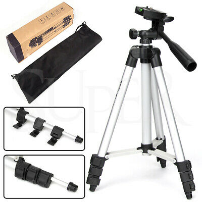 AU12.99 • Buy Professional Camera Tripod For DSLR Canon Nikon Sony Camcorder Stand Lightweight