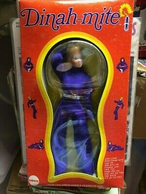 $ CDN156.41 • Buy VINTAGE MEGO Dinah-mite Female Action Figure 8  MIB New Old Stock Clam Box Rare