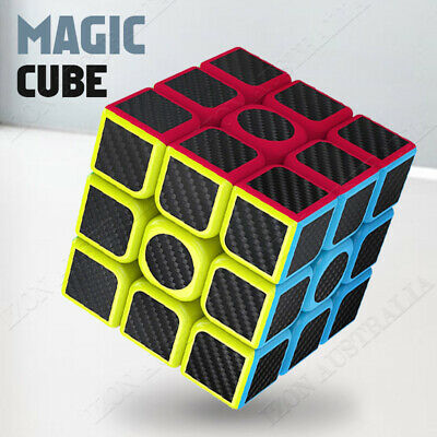 AU10.55 • Buy Magic Cube 3x3x3 Rubiks Puzzle Easy Turning Smooth Play Turns Quicker Toy Gift