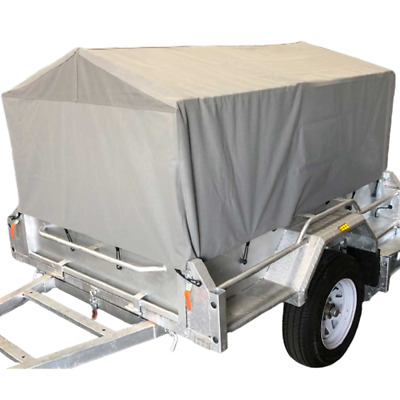 AU350 • Buy Box Cage Trailer Cover Canvas Tarp For 6x4x3 Ft 900mm High Cage