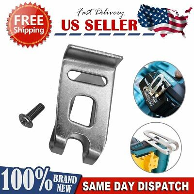$7.44 • Buy NEW Makita 18V LXT BELT CLIP/HOOK For Impact Driver, Compact & Hammer Drill