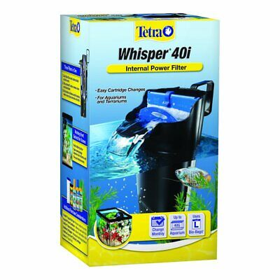 AU25.77 • Buy Whisper In-Tank Filter 40i With BioScrubber For 20 40 Gallon Aquariums