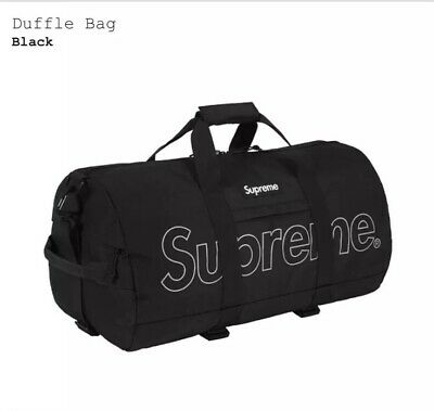 $ CDN414.66 • Buy Supreme Duffle Bag Purple FW18 3M Reflective Printed Logo New! 100% Authentic!