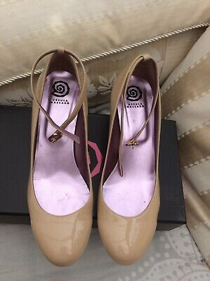Mascaro Patent Leather Shoes Size 6 Spain Excellent Condition • 29.50£