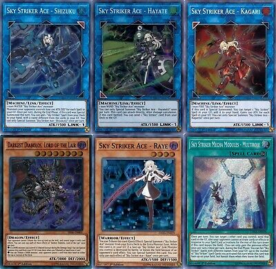 $ CDN106.84 • Buy Yugioh Sky Striker 2019 Deck  - Kagari - Multirole - Shizuku  - 55 Cards