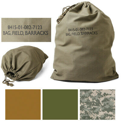 $11.99 • Buy Cotton Canvas Laundry Bag Field Barracks Military Army Tactical Gym Camping