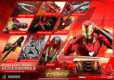 $ CDN370.68 • Buy Hot Toys Marvel Avengers Infinity War Iron Man Mark L 50 Accessories 12  1/6 New