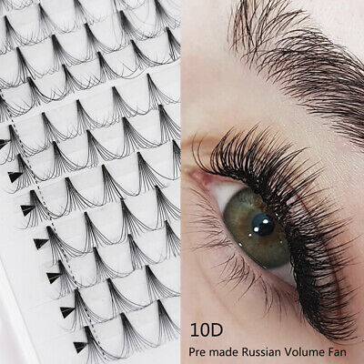 AU7.31 • Buy Extensions Premade Russian Volume Lash Fan  10D Fuller Effect False Eyelashes AU