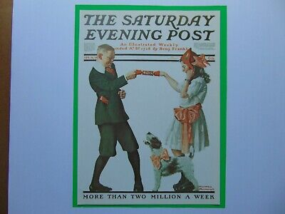 $ CDN8.94 • Buy Saturday Evening Post APR 26,1919  (REPRINT) Norman Rockwell (COVER ONLY)
