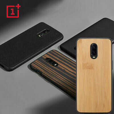 AU10.52 • Buy For OnePlus 6 7 Pro 6T 5T Shockproof Wood Bamboo Nylon Hybrid Fitted Case Cover